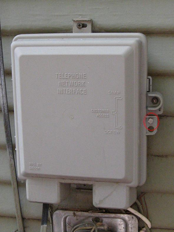 telephone network interface device diagram troubleshooting phone issues  troubleshooting phone issues
